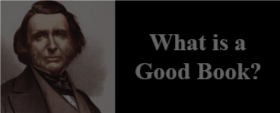 What is a Good Book?