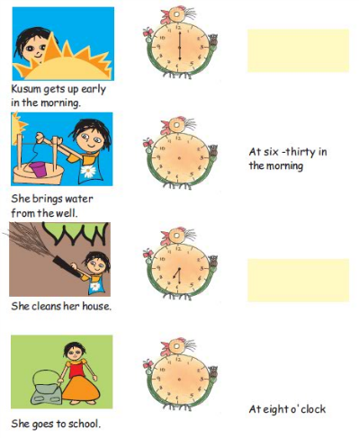 NCERT Solutions for class 3 Mathematics Chapter-7 Time Goes On