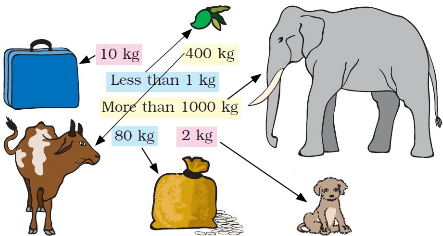 NCERT Solutions for class 3 Mathematics Chapter-8 Who is Heavier ?