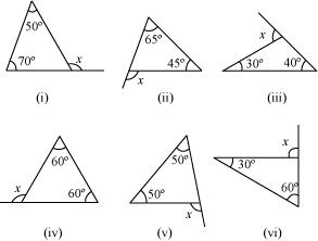 NCERT Solutions for Class 7 Math Chapter 6 - The Triangle And Its