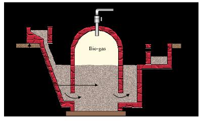 Xpln D Steps Involved I Nn Obtaining Biogas From A Biogas