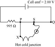 Current Electricity, Board Paper Question: CBSE Class 12